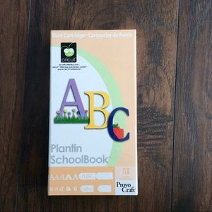 Cricut Plantin Schoolbook Font Cartridge